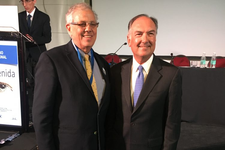 Dr. Cristián Luco y Dr. Eduardo Alfonso