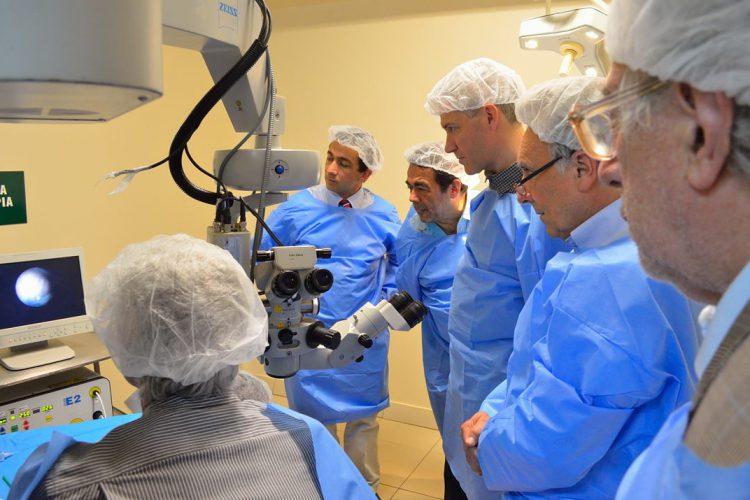 Taller de Cirugía intraocular endoscópica