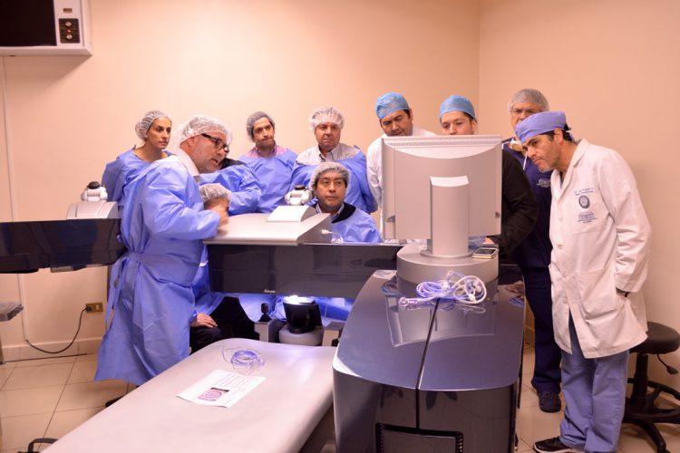 Taller de cirugía refractiva (Suite refractiva Alcon: Excimer 500 y Femtosegundo FS200)
